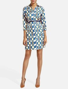 Printed Shirtdress from THELIMITED.com
