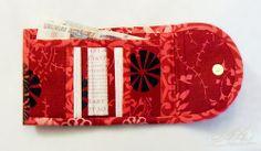 Удобный кошелечек с внешним кармашком для мелочи. МК.