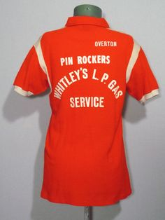 "Vintage 1960s Hilton Bowling Shirt ""Pin Rockers"" Made in U.S.A."