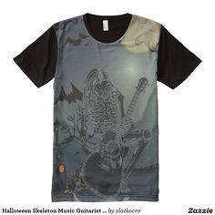 Halloween Skeleton Music Guitarist Singer