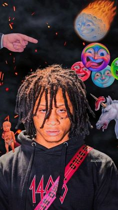 phone wall paper sky iphonewallpaper phone wallpapers phone wallpaper trippy Sick Trippie Redd Wallpaper fit perfectly for iPhone 11 and newer versions of Andriod phones. Rapper Wallpaper Iphone, Hype Wallpaper, Trippy Wallpaper, Retro Wallpaper, Wallpaper Wallpapers, Wall Wallpaper, Trippie Redd, Bedroom Wall Collage, Photo Wall Collage