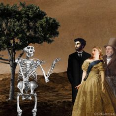 Find GIFs with the latest and newest hashtags! Search, discover and share your favorite Kiszkiloszki GIFs. The best GIFs are on GIPHY. Imagenes Gift, Funny Skeleton, Danse Macabre, Painting Videos, Painting Gif, Classic Paintings, Spooky Scary, Animation, Moving Pictures