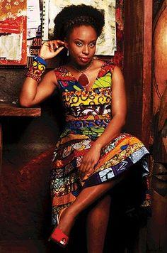 Beautiful Nigerian Writter, Chimamanda Ngozi Adichie