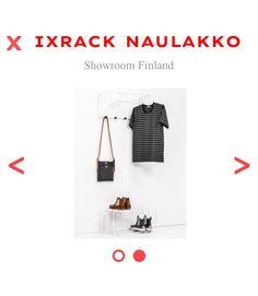 Mixrack naulakko Design Tapio Anttila