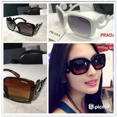 #SandraDewi #Prada #KacamataPrada #SupplierKacamataJakarta #PradaKeong #Hitam #Putih #Coklat #Jakarta #Indonesia Rp130.000/130k