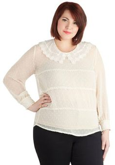 Cupcake Headliner Top in Plus Size, #ModCloth