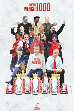 Wenger Arsenal Fc, Arsenal Players, Football Ads, Arsenal Football, Thierry Henry, Manchester United Stadium, History Of Soccer, Statue En Bronze, Soccer