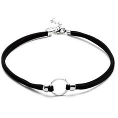 Silver Plated Circle Cord Choker Necklace (245 RUB) ❤ liked on Polyvore featuring jewelry, necklaces, chokers, black, silver plating jewelry, round necklace, cord choker necklace, cord jewelry and circle jewelry