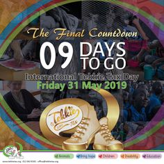 Yes, it is the FINAL Countdown to International Tekkie Tax Day on Friday, 31 May 2019. Only 9 days to go! Show us where your heart lies Get your Tekkie Tax merchandise from www.tekkietax.org, www.takealot.com, visit any @ToysRUs/BabiesRUs store or contact us on 012 663 8181 – reception@tekkietax.org  #tekkietax #mezzzmerize #tekkietize #lovingtekkies #projectk4k #TekkieTaxDay
