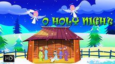 O Holy Night - Popular Christmas Carols with Lyrics