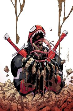 Marvel Launches Venom Madness Variants For david lopez Marvel Avengers, Marvel Venom, Marvel Dc Comics, Marvel Heroes, Comic Book Characters, Marvel Characters, Comic Character, Comic Books Art, Marvel Tattoos