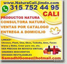 CONSULTORA NATURA COLOMBIA,  PRODUCTOS BELLEZA. Perfumes, Maquillaje, Cosméticos, Limpieza CONSULTORA NATURA COLOMBIA,  PRODUCTOS BELLEZA. Perfumes,  .. http://cali.evisos.com.co/consultora-natura-colombia-productos-belleza-perfumes-maquillaje-cosmeticos-limpieza-id-447555
