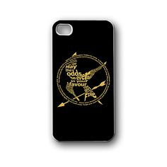 hunger games logo quotes - iPhone 4,4S,5,5S,5C, Case - Samsung Galaxy S3,S4,NOTE,Mini, Cover, Accessories,Gift