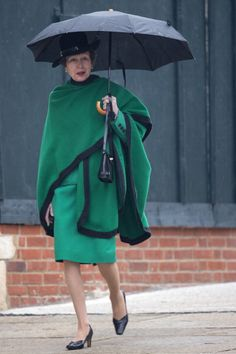 Princess Anne, Princess Royal arrives to attend the Easter Matins at St George's Chapel in Windsor Castle on April 20, 2014 in Windsor, England.