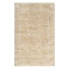 Bring estate-worthy appeal to your decor with this classic rug, artfully hand-woven and showcasing a Persian-inspired motif.   Produ...