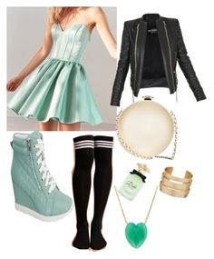 """""""Untitled #72"""" by kennise1 on Polyvore featuring Kimchi Blue, Balmain, Chanel, Dolce&Gabbana and Irene Neuwirth"""