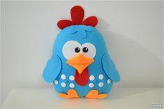 galinha pintadinha em feltro - Pesquisa Google