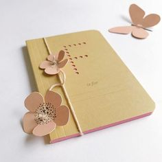 Celebrating spring! Decorated one of the lovely perforated alfabet notebooks with some flowers (and one butterfly) from a package Fields of Joy, both for sale in the webshop. I am not a great pink fan, but oh my...I love this colour combo! #perforation #alfabet #notebook #paperdecor #greenandblush #nudecolor #paperdesign