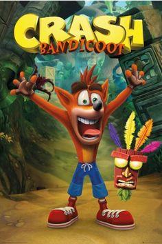 Crash Bandicoot Crash Maxi Poster