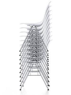 *modern industrial design, white* - Eames Shell Side Chair