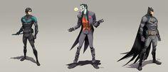 Great Comic and Villain art by Dan Mora.  See all the heroes and villains here - http://digitalart.io/comic-hero-villain-digital-art/