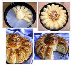 Így formázd a kelt tésztát – 30 ötlet lépésről lépésre - Pizza Recipes, Bread Recipes, Cooking Recipes, Serbian Recipes, Turkish Recipes, Bread Shaping, Bread Art, Bread And Pastries, Desert Recipes