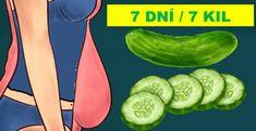 Gå raskt ned i vekt på 7 dager, med agurk dietten! Fast Metabolism Diet, Metabolic Diet, Boost Metabolism, Lose 5 Pounds, Losing 10 Pounds, 20 Pounds, Losing Weight, Cardiac Diet Plan, How To Slim Down