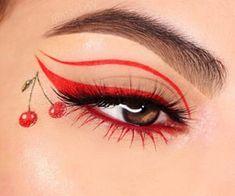 Image about style in Makeup Looks by ? on We Heart It - Creative Makeup 2020 Cute Makeup Looks, Makeup Eye Looks, Eye Makeup Art, Colorful Eye Makeup, Crazy Makeup, Makeup Set, Makeup Goals, Makeup Inspo, Eyeshadow Makeup