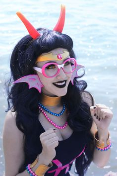 HomeStuck Cosplay || The Pisces || Oh my cod, this is the best Fef cosplay ever...<3