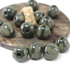 New beautiful ceramic beads 😋 #beads #ceramics #jewelry #Etsy #etsystudio #pottery #handmade #craft