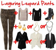 """""""Layering Leopard Pants"""" by thedreamery on Polyvore"""