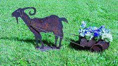welded garden art | Garden Sculpture Cactus Sculpture Sunflower Sculpture Metal Garden Art ...