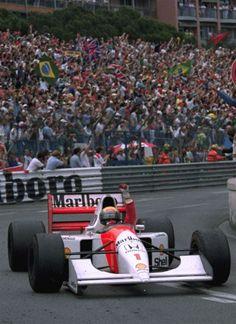 May 31, 1992 file photo, Brazilian driver Ayrton Senna …