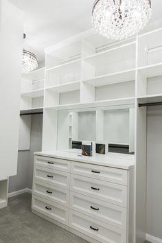 Closet Remodel Before & After Master Closet Layout, Master Closet Design, Master Bedroom Closet, Bathroom With Closet, Master Bath, Diy Custom Closet, Custom Closet Design, Closet Designs, Custom Closets