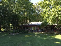 Situated on 35 acres of pristine creek front property , our stone cabin is surrounded by woods and pasture. Extremely private and peaceful, yet easily accessible. Also experience a touch of farm life with chickens, ...