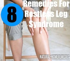 Restless leg syndrome is condition of the nerves that is very common. However, many people suffering from the condition are too embarrassed to get treated for