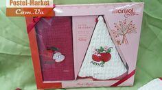 Набор полотенец для кухни Nilteks красный купить в интернет магазине Постель Маркет (Киев, Украина )