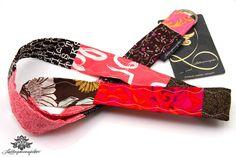 Schlüsselband von #Lieblingsmanufaktur: pink, braun und rosa