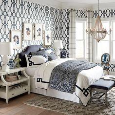 Thandie Watercolor Spotted Duvet Cover | Ballard Designs Bedroom Furniture, Home Furniture, Bedroom Decor, Bedroom Ideas, Glam Bedroom, Outdoor Furniture, Design Bedroom, Bedroom Inspiration, Bedroom Colors