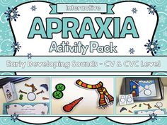 apraxia interactive speech therapy activities Christmas Speech Therapy, Preschool Speech Therapy, Articulation Therapy, Speech Therapy Activities, Speech Pathology, Speech Language Pathology, Preschool Age, Childhood Apraxia Of Speech, Therapy Tools