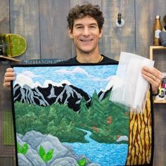 Rob Appell teaches you to freestyle appliqué!