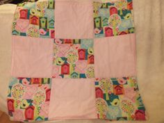 Well padded for extra warmth by MaterialHugs, plus postage - is actually lovely and bright and very girly, didn't do it justice in the photo! Backing is flannel. Hugs, Flannel, Girly, Bright, Quilts, Children, Unique Jewelry, Handmade Gifts, Crafts