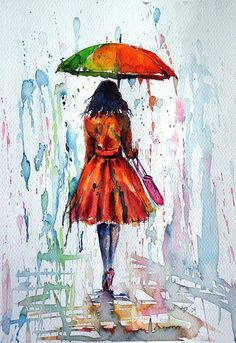 watercolor paintings by Anna Brigitta Kovacs