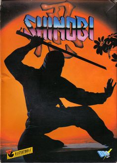 SHINOBI #80s #design #cover #ninja #retro #games