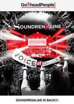 "SoundrenAline ""Voice Of Choice"" 10 Mei 2014 At Lapangan Lenmarc Mall, Bukit Darmo Boulevard – Surabaya 12.00 – 24.00 HTM : RP 25.000  http://eventsurabaya.net/soundrenaline-voice-of-choice/"