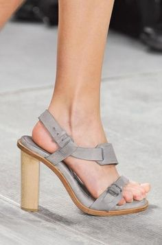 The perfect go-with-anything sandal! The 50 Best Shoes at NY Fashion Week   StyleCaster