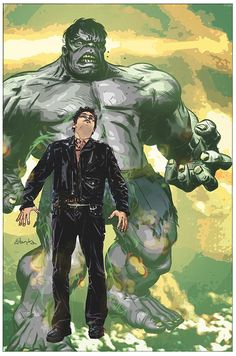 Peter Parker as Hulk (Bullet Points) by Tommy Lee Edwards