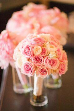 Pink roses ~ http://www.portraitsbyshanti.com/   bellethemagazine.com