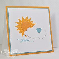 Sunshine on a Cloudy Day by atsamom, via Flickr