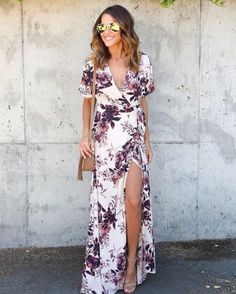 """281 Likes, 5 Comments - VICIDOLLS (@vicidolls) on Instagram: """"Desert Evening Wrap Maxi Dress $68 Our Favorite Summer Maxi Dress! SHOP LINK IN BIO"""""""